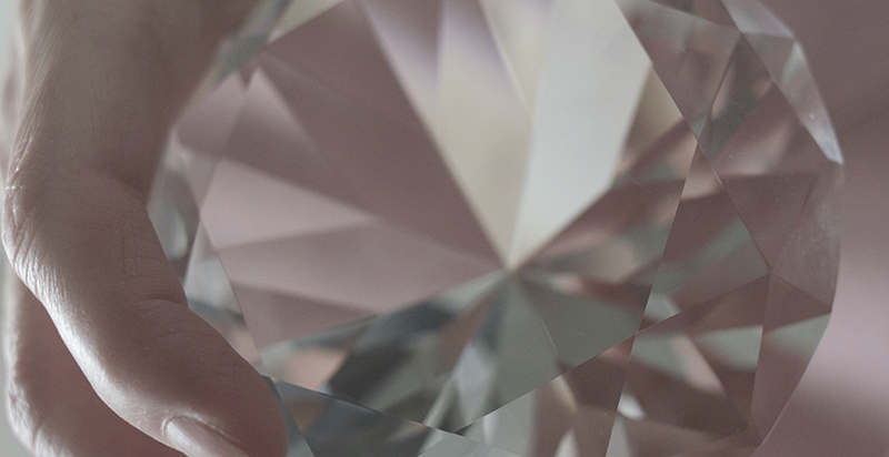 Be the multi facet diamond, created out of pressure